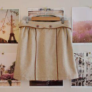 Dainty June Durvish Wool Mini Skirt (Made in USA!)